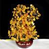 批发供应采购家居礼品黄水晶招财树发财树平安树工艺品摆件同心树
